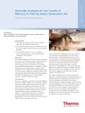 Accurate Analysis of Low Levels of Mercury in Fish by Vapor Generation AA
