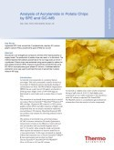 Analysis of Acrylamide in Potato Chips by SPE and GC-MS