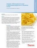 Analysis of Benzophenone and 4-Hydroxybenzophenone in Breakfast Cereal
