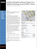 Analysis of Estradiol and Estrone Using a Core Enhanced Technology Accucore HPLC Column