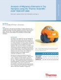 Analysis of Migratory Elements in Toy Samples using the Thermo Scientific iCAP 7200 ICP-OES