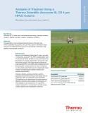 Analysis of Triazines using Accucore XL C8 4µm HPLC Column