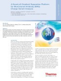 Application Note: A Novel pH Gradient Separation Platform for Monoclonal Antibody (Mab) Charge Variant Analysis
