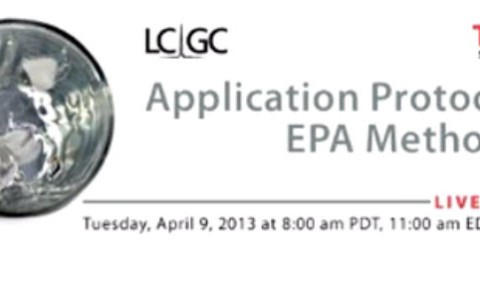 Application Protocol for EPA Method 539
