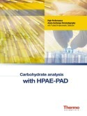 Carbohydrate Analysis with HPAE-PAD