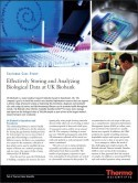 Case Study:  Effectively Storing and Analyzing Biological Data at UK Biobank