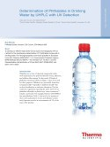 Determination of Phthalates in Drinking Water by UHPLC with UV Detection