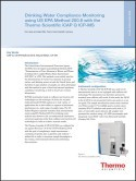 Drinking Water Compliance Monitoring using US EPA Method 200.8 with the Thermo Scientific iCAP Q ICP-MS