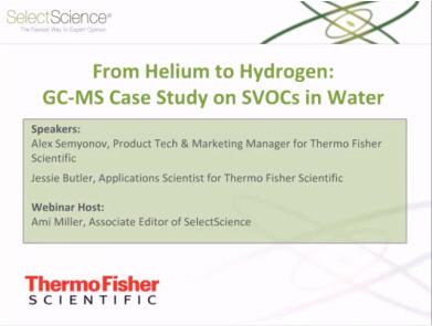 From Helium to Hydrogen: GC-MS Case Study on SVOCs in Water