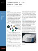 Gemstone Analysis by FT-IR:  Identifying Treated Jade