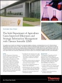 Irish Department of Agriculture Gains Improved Efficiencies with Thermo Scientific LIMS