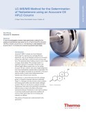 LC-MS/MS Method for the Determination of Testosterone using an Accucore C8 HPLC Column