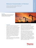 Molecular Characterisation of Petroleum