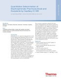 Quantitative Determination of  Bisphosphonate Pharmaceuticals and  Excipients by Capillary IC-MS