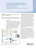 Targeted Kinase Inhibitor Profiling Using a Hybrid Quadrupole-Orbitrap Mass Spectrometer