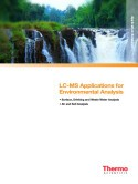 Thermo Scientific LC-MS Applications for Environmental Analysis Compendium
