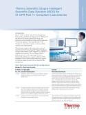 Thermo Scientific Qtegra Intelligent Scientific Data Solution (ISDS) for 21 CFR Part 11 Compliant Laboratories
