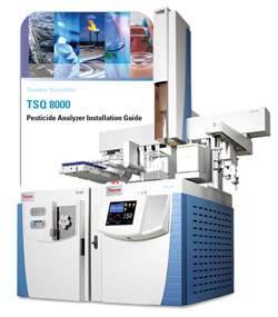 TSQ 8000 Pesticide Analyzer GC-MS/MS