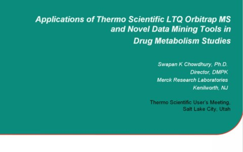 applications-of-ltq-orbitrap-ms-and-novel-data-mining-tools-in-drug-metabolism-studies