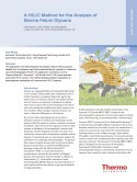A HILIC Method for the Analysis of Bovine Fetuin Glycans