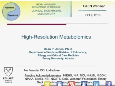 High-Resolution Metabolomics