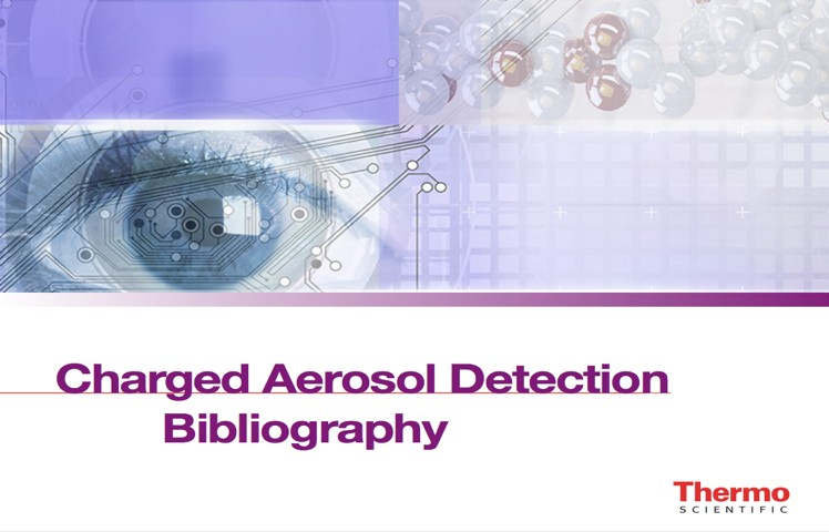 Charged Aerosol Detection List of Published Articles1