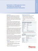Extraction of Nitroglycerin from  Transdermal Patches by  Accelerated Solvent Extraction