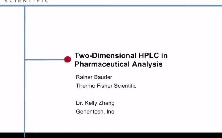 Two-Dimensional-HPLC-in-Pharmaceutical-Analysis