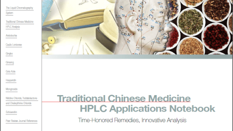 Traditional Chinese Medicine HPLC analysis