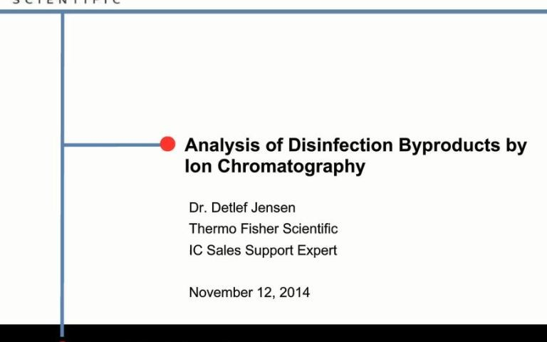 Analysis-of-Disinfection-Byproducts-in-Drinking-Water-by-Ion-Chromatography