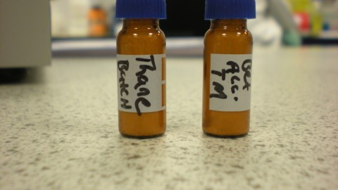 Handwritten Vial Labels