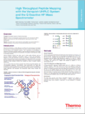 High Throughput Peptide Mapping Poster Note