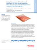 Safety Assessment of Food Contact Materials