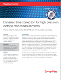 dynamic-time-correction-for-high-precision-isotope-ratio-measurements