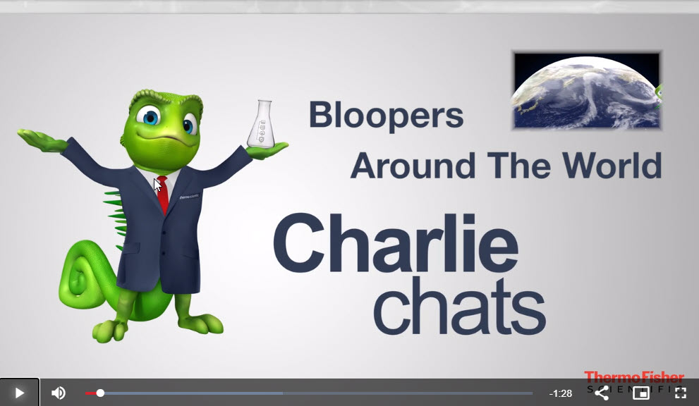 Charlie Chats: Editor's Pick – Bloopers From Chromeleon CDS Around the World